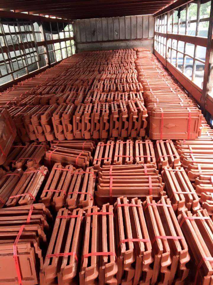 Ứng dụng sản phẩm dây đai nhựa PP đỏ 1