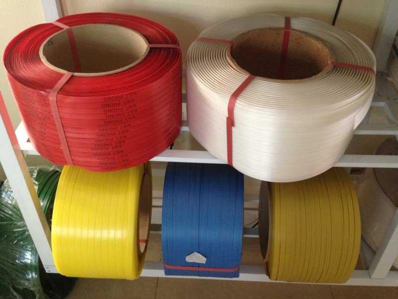 Sản phẩm dây đai nhựa PP đỏ