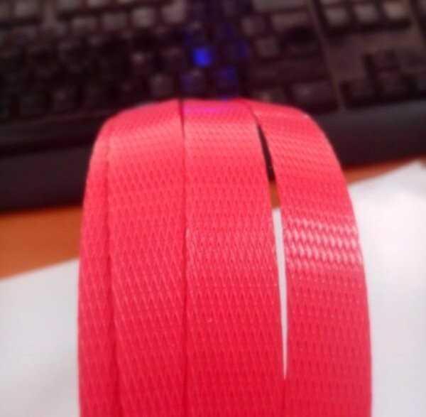 Dây đai nhựa PP đỏ 1