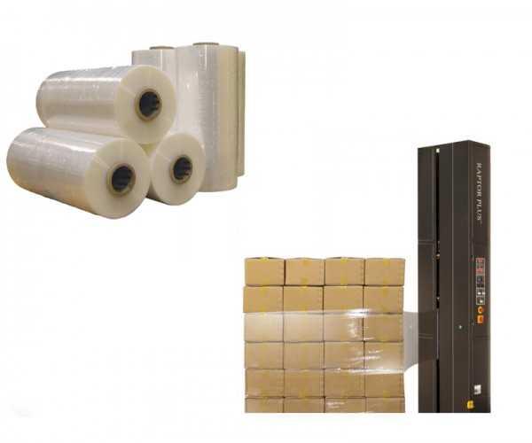 Sản xuất màng quấn máy PE