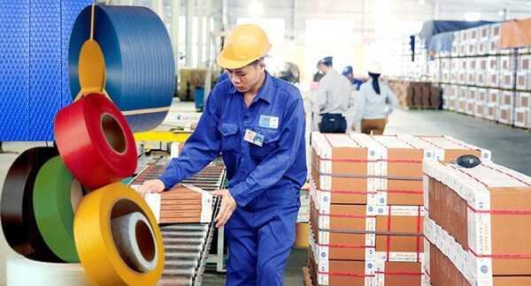 Sản xuất dây đai nhựa ứng dụng rộng rãi