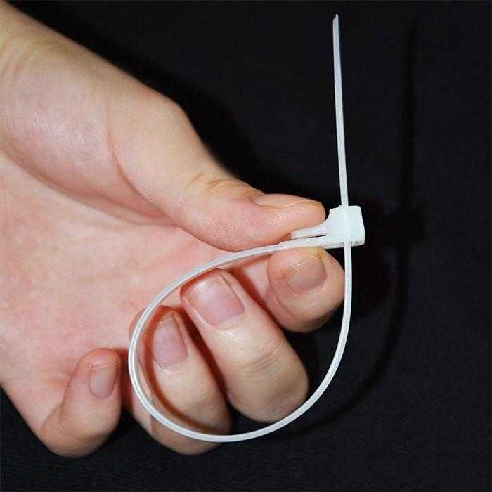 Lạt nhựa- dây rút nhựa 30cm 2