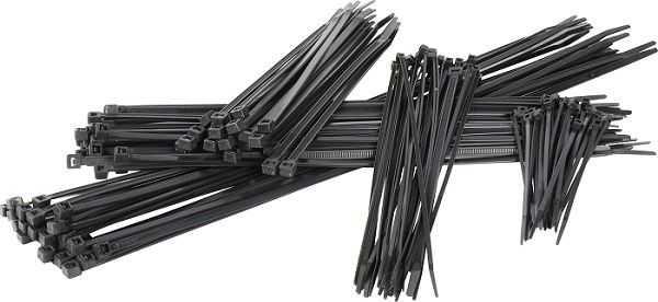 Dây thít nhựa- lạt nhựa đen 1