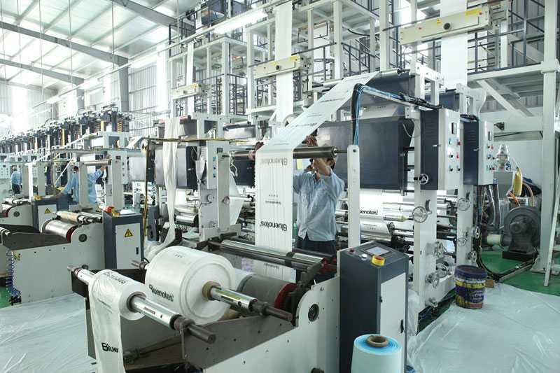Máy sản xuất màng phức hợp